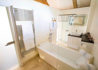 Bathroom in The Barn at Mesmear