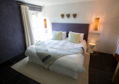 Double bedroom in The Mill at Mesmear
