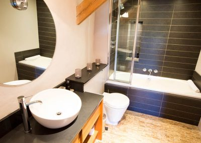 Ensuite bathroom in The Barn at Mesmear