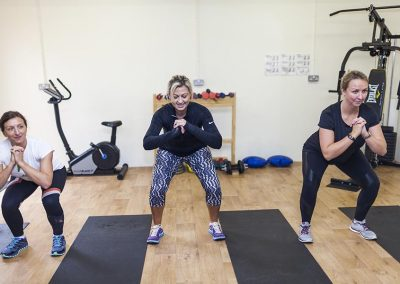 Fitness class at Mesmear