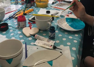 Hen party crafts at Mesmear