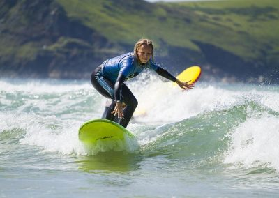 Learning to surf with Wavehunters at Polzeath