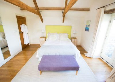 Master Bedroom in The Barn at Mesmear