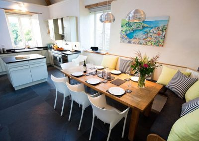 The Mill at Mesmear Polzeath. Dining kitchen