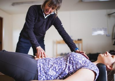 Pilates session with Vicki at Mesmear