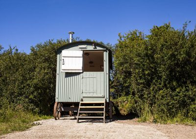 Shepherds Hut Polzeath Glamping