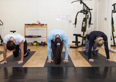 Studio fitness class at Mesmear